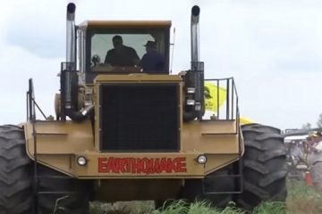 Labourage Earthquake un demi siècle d'avancée technologique