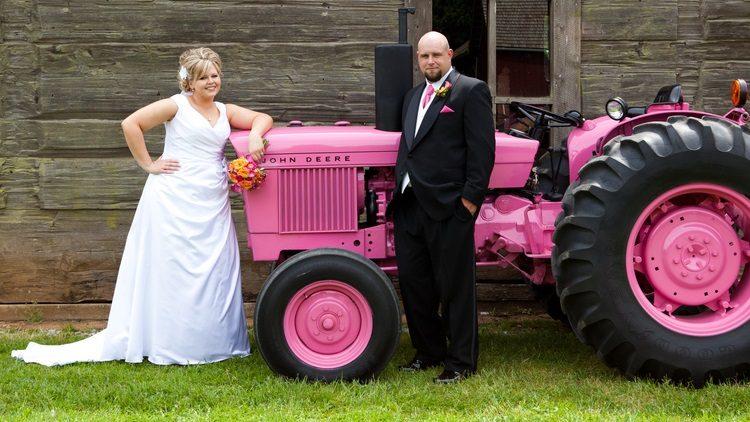 un mariage c est bien un mariage en tracteur c est mieux tractopia