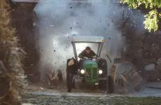 moteur turbo dans un tracteur